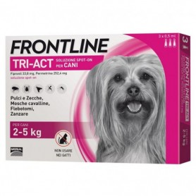 Frontline Tri-Act 2-5Kg 6 Fiale