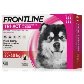 Frontline Tri-Act 40-60Kg 6 Fiale