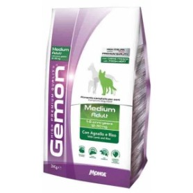 Gemon Medium Adult Agnello E Riso 3Kg