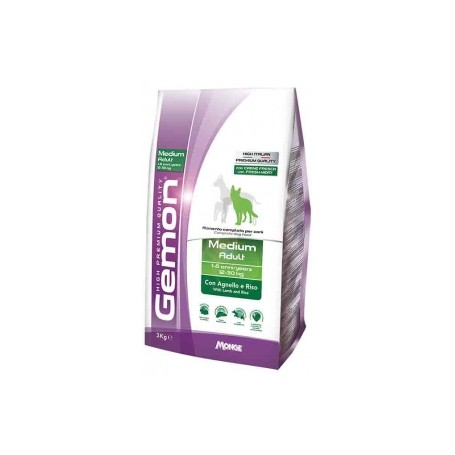 Gemon Medium Adult Agnello&Riso 15Kg