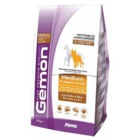 Gemon Medium Junior Pollo 3Kg