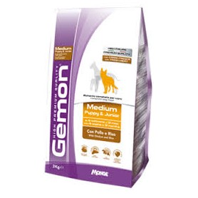 Gemon Medium Junior Pollo&Riso 15Kg