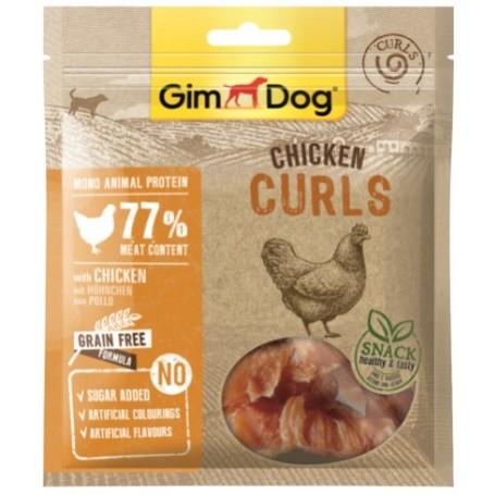 Gimborn Snack per Cane Curls Con Pollo 55Gr