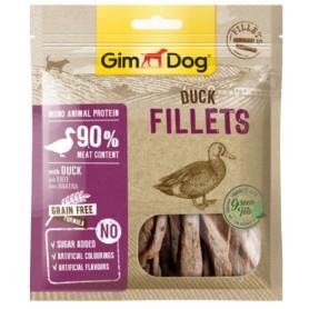 Gimborn Snack per Cane Filetti con Anatra 60Gr