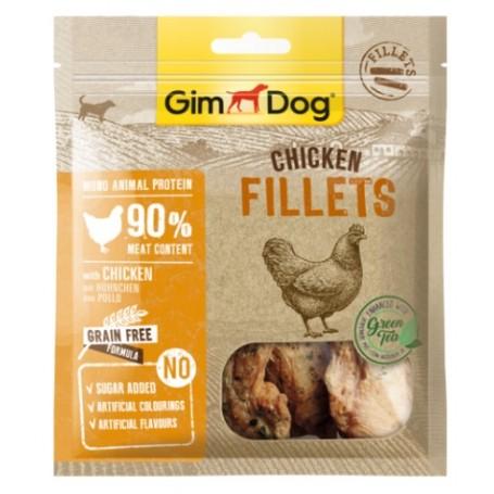 Gimborn Snack per Cane Filetti con Pollo 60Gr