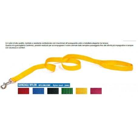Guinzaglio Nylon 2,5X120Cm  Rosso