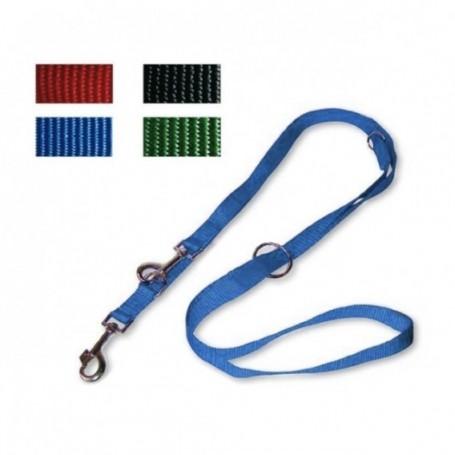 Guinzaglio Nylon Addestramento 1,9X220Cm Blu