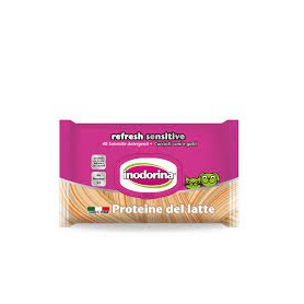 Inodorina Salviette Sensitive Latte 40Pz