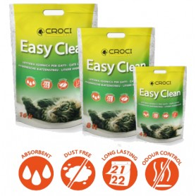 Lettiera al Silicio Easy Clean 7,5Lt NEW
