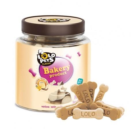 Lolo Pets Osso Biscotto Medio Alla Vaniglia 210Gr