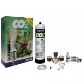 Aquili Impianto Co2 600gr New Kit Con 2 Manometri Edizione 2020