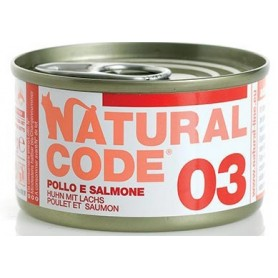 Natural Code 03 Pollo e Salmone 85Gr