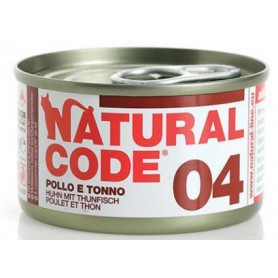 Natural Code 04 Pollo e Tonno 85Gr