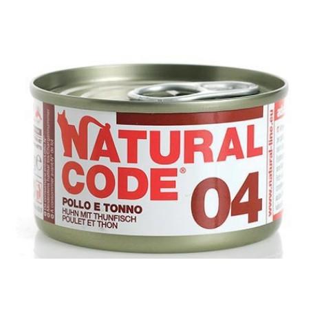 Natural Code 04 Pollo e Tonno 85Gr