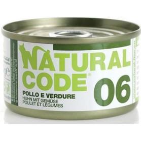 Natural Code 06 Pollo e Verdure 85Gr