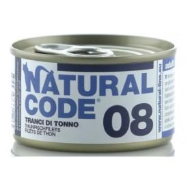 Natural Code 08 Tranci di Tonno 85Gr
