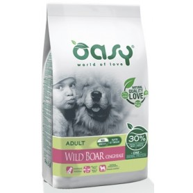 Oasy Cane Adult Medium Large One Protein Cinghiale 12Kg