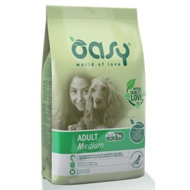 Oasy Cane Adult Medium Pollo 12Kg