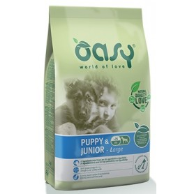 Oasy Cane Puppy & Junior Large Pollo 12Kg