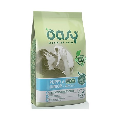 Oasy Cane Puppy & Junior Medium 3Kg