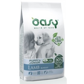 Oasy Cane Puppy Medium Large One Protein Agnello 12Kg