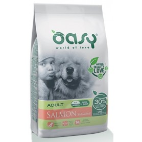 Oasy Cane Puppy Medium Large Monoprotein Salmone 2,5Kg