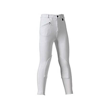 Pantalone Donna Tg.40 Tessuto Elasticizzato Leggero Selene Bianco