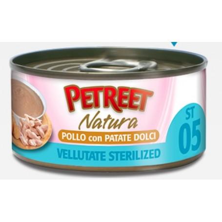 Petreet Vellutate Sterilised Pollo con Patate 70Gr