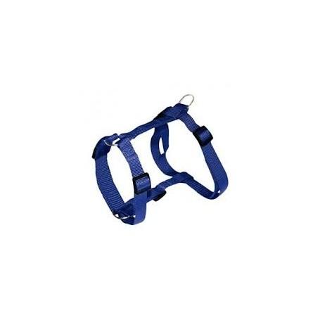 Pettorina Classic Nylon Small Blu Regolabile