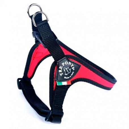 Pettorina Tre Ponti Sottopancia Regolabile Mis.3 Rosso