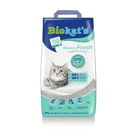 Biokat'S Lettiera Bianco Fresh 10Kg