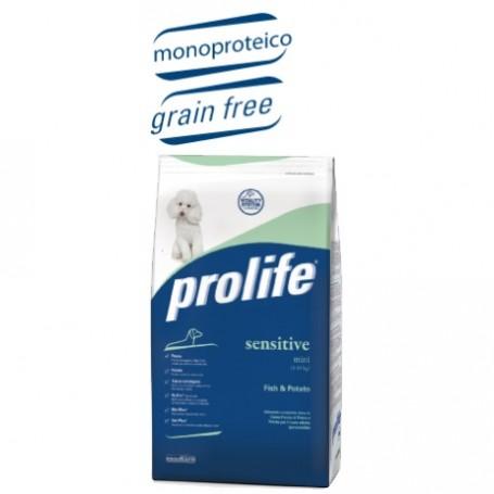 Prolife Dog Sensitive Mini Fish Grain Free 600Gr