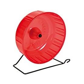 Ruota Per Criceti Plastic Wheel 14X7 Con Base
