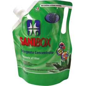 Sanibox Igienizzante Lavapavimenti Aloe 1Lt