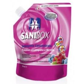 Sanibox Igienizzante Lavapavimenti Lampone E Mirtillo 1Lt