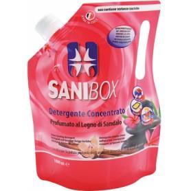 Sanibox Igienizzante Lavapavimenti Legno Di Sandalo 1Lt