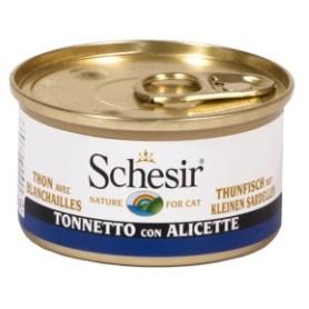 Schesir Tonnetto Con Alicette Al Naturale 85Gr