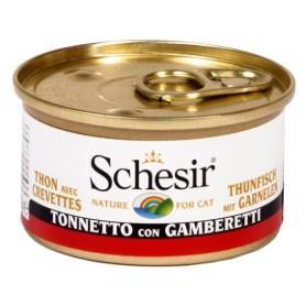 Schesir Tonnetto Con Gamberetti 85Gr