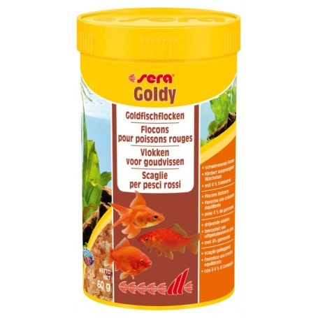 Sera Goldy Nature Flakes 250Ml