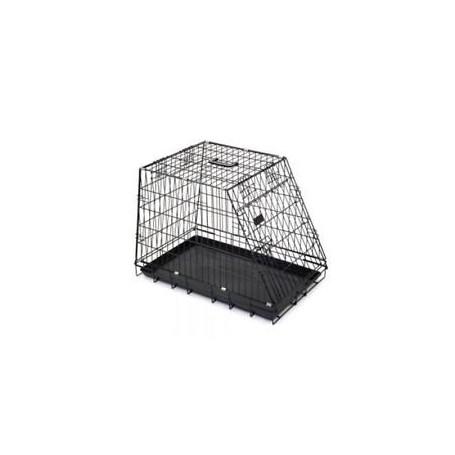 Box Per Cani Smussato 92X63X72Cm Zincato