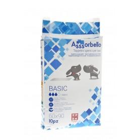 Tappetini Igienici Assorbello Con Polimeri e Adesivi 60x90 10pz