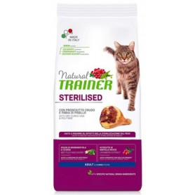 Trainer Natural Cat Sterilised Prosciutto 300Gr