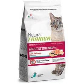 Trainer Natural Cat Sterilised Salmone 300Gr