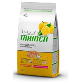 Trainer Natural Small & Toy Puppy & Junior Pollo 800Gr