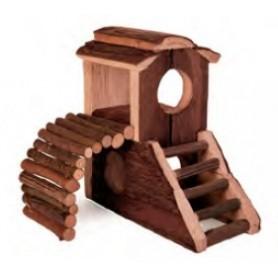 Wood  House Vania 17X17X10