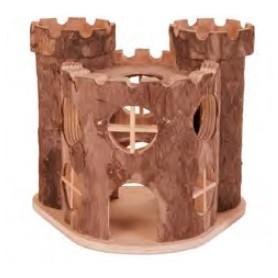 Wood Castle 17X15X12