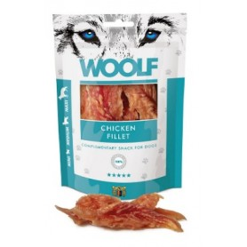 Woolf Snack per cani Filetto Di Pollo 100Gr