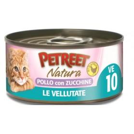 Petreet Vellutate Pollo- Zucchine 70Gr