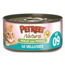 Petreet Vellutate Pollo-Piselli 70Gr