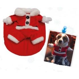 Vestitino Santa Claus Per Cani 35Cm